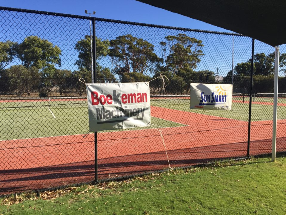 Yerecoin Boekemans Sponsored Tennis Day