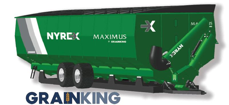 NYREX® MAXIMUS grain bin by Grain King