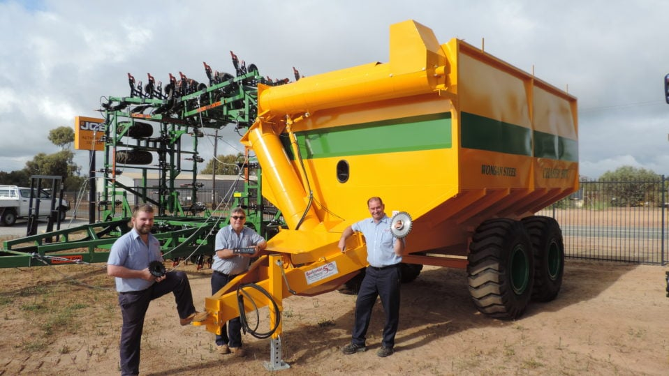 Boekemans support Wongan Steel Chaser Bin owners with parts backup