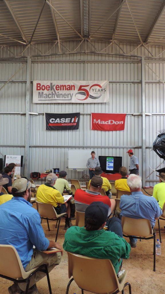 Boekeman Machinery hosting 30 plus Case IH & MacDon owners at the Dalwallinu branch for operator training