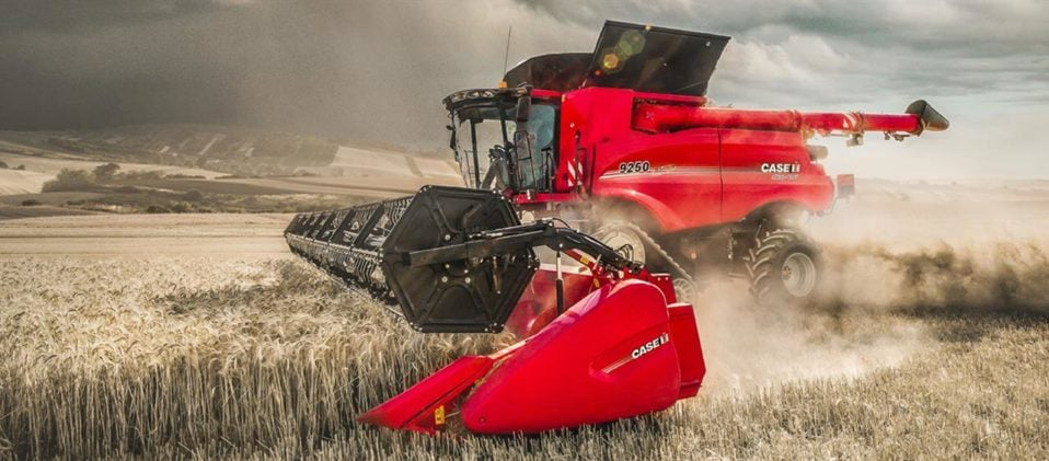 CASE IH All New 250 Series Combine Featuring AFS Harvest Command
