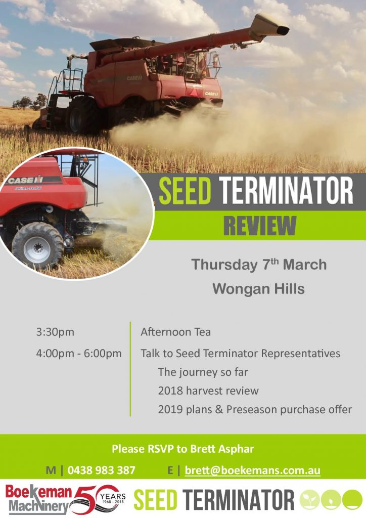 Meet & Greet with the team from Seed Terminator poster