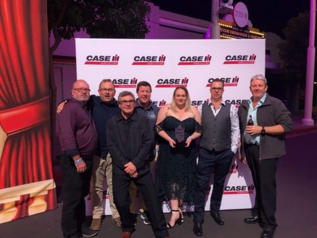 Boekeman Machinery Parts Team members on the CaseIH National Parts Dealer of the Year for 2018/2019
