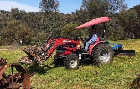 Case Farmall 50B tractor