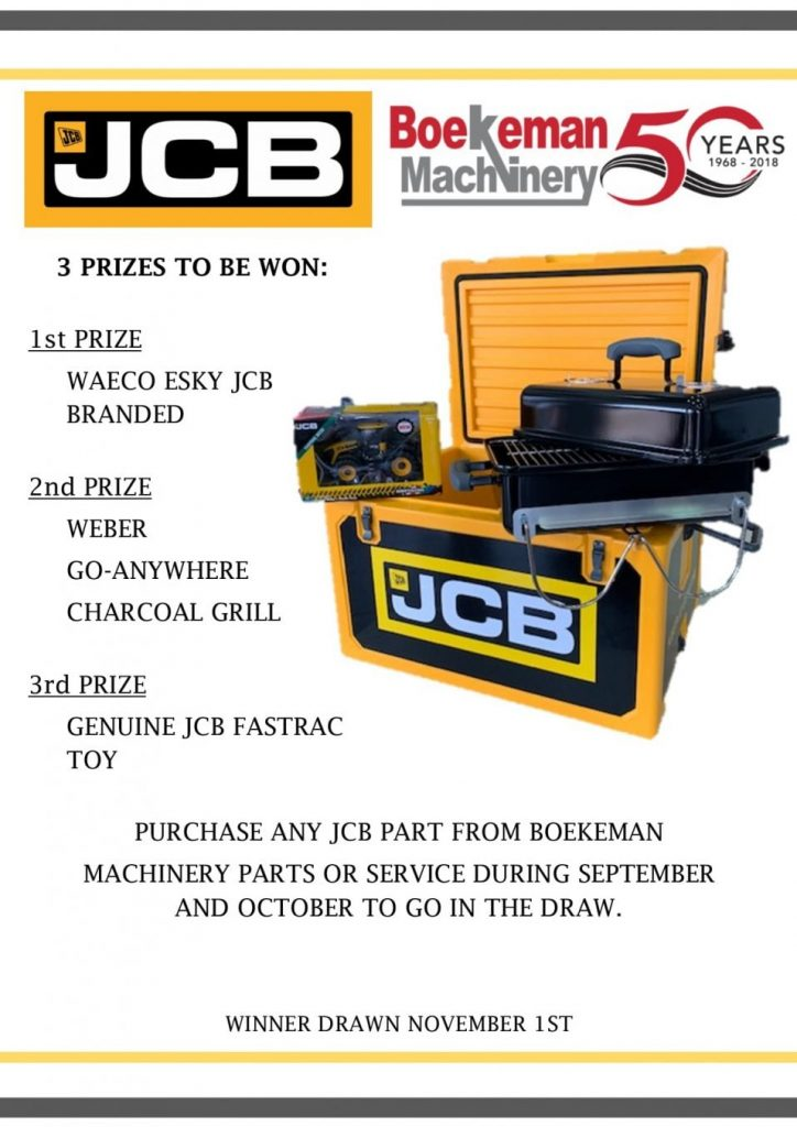 JCB Competition Poster