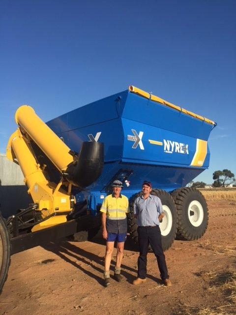 Colin Pearce and L. Pearse & Co's New 2019 GrainKing 32T/40000L NYREX Tanbdem Chaser Bin