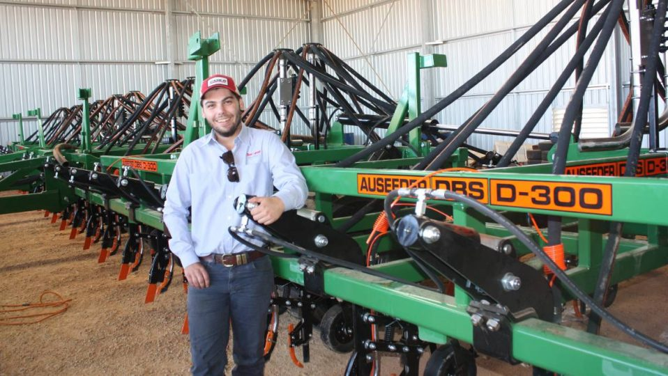 Lyndon Zetovic shifting from being a dairy farmer to selling machinery