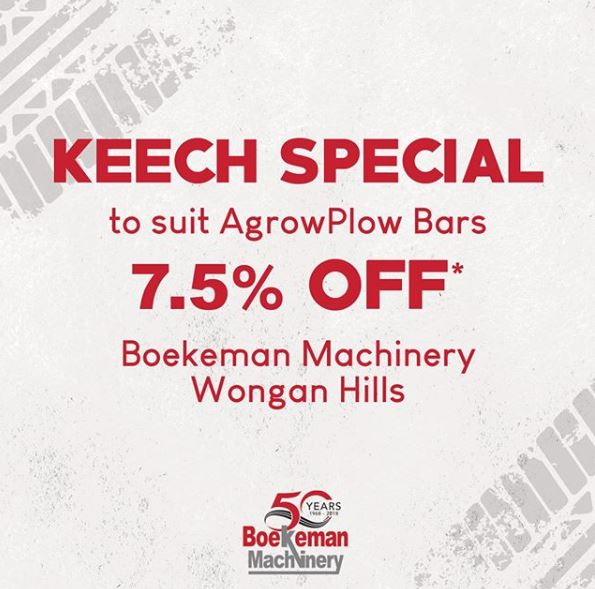 Keech Special - Boekeman Machinery poster