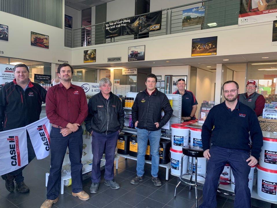 Boekeman Machinery Northam 2020 Parts Support team