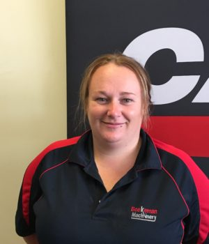 Kirsty Vince, Parts Manager