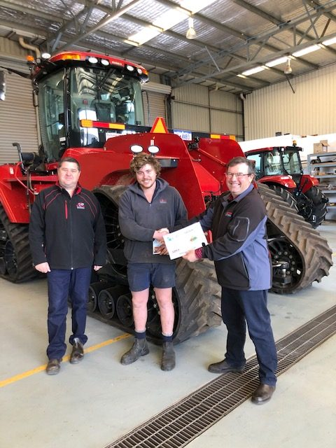 Congratulations to Ben Walsh on 6 years of dedicated service at Boekeman Machinery Northam
