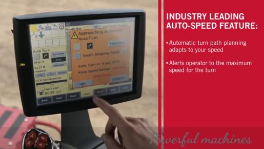 Auto-speed feature of Boekeman machines